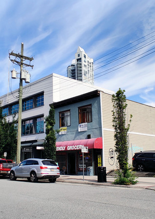 Sale of a Freestaing Commercial building at 110 E 1st, North Vancouver for $2,600,000