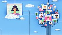 Så här bygger du ett digitalt nätverk – Martina Brandt i tidningen Kollega