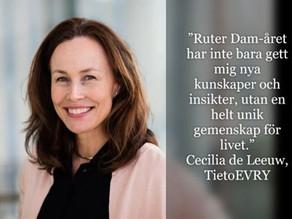Nomineringen öppen för Ruter Dam 2021