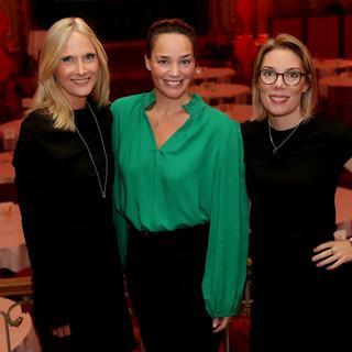 Marika Lundsten, Helena Velin & Maria Billing      Ruter Dam