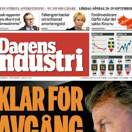 Dagens Industri: Miljöhuset som rundar elnotan
