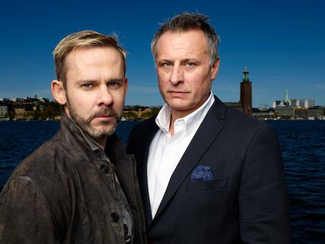Actors Dominic Monaghan & Mikael Nygren