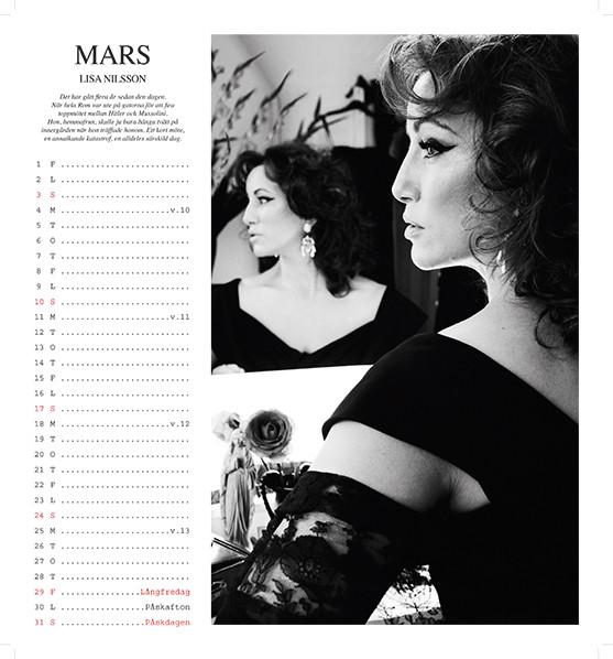 Calendar singer Lisa Nilsson