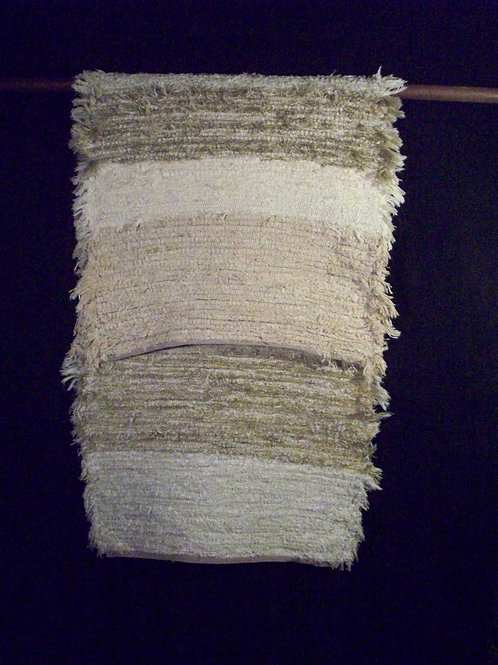 Neutral Cotton Runner