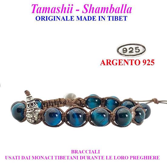 Bracciale Tamashii-Shamballa Occhio di Falco