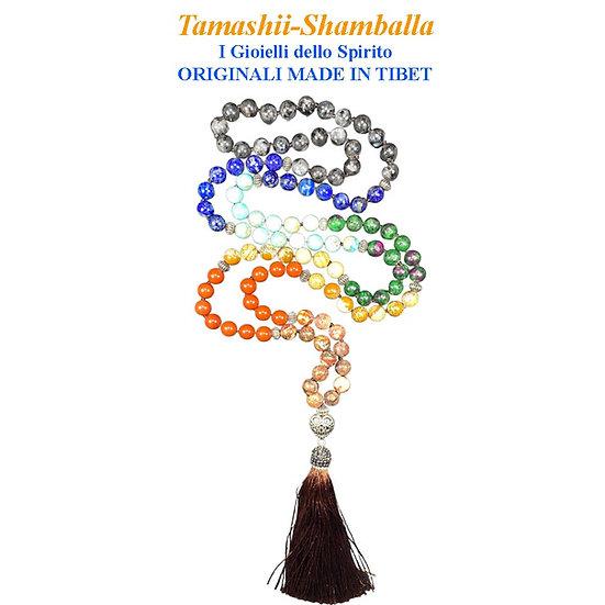 Collana Shamballa 7 Chakra