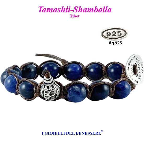 Bracciale Tamashii-Shamballa Sodalite