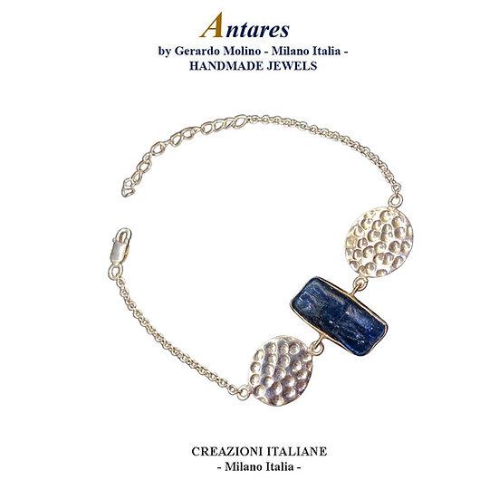 "Bracciale ""Antares"" in Ag 925 con Cianite"