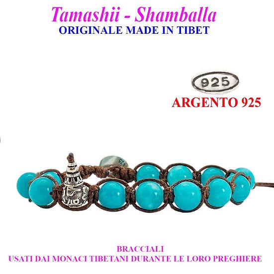 Bracciale Tamashii-Shamballa Giada Blu Sky