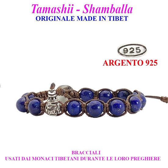 Bracciale Tamashii-Shamballa Lapislazzuli