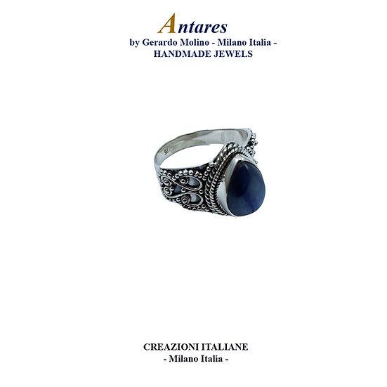 """Anello """"Antares"""" in Ag 925 con Tanzanite"""