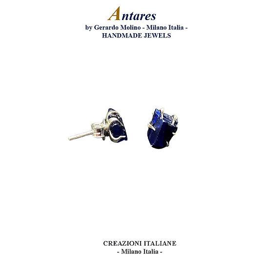 """Orecchini """"Antares"""" in Ag 925 con Zaffiro"""