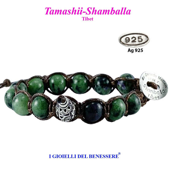 Bracciale Tamashii-Shamballa Zoisite