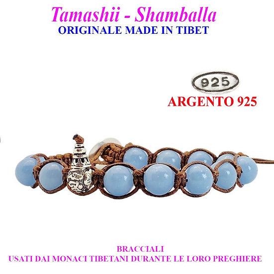 Bracciale Tamashii-Shamballa Angelite
