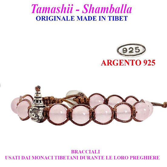 Bracciale Tamashii-Shamballa Giada Rosa