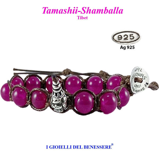 Bracciale Tamashii-Shamballa Giada Raspberry