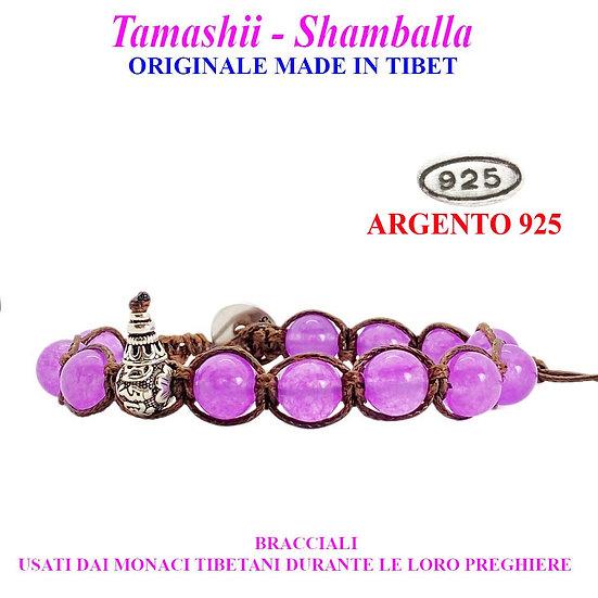 Bracciale Tamashii-Shamballa Giada Lavanda