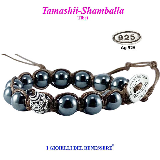 Bracciale Tamashii-Shamballa Ematite