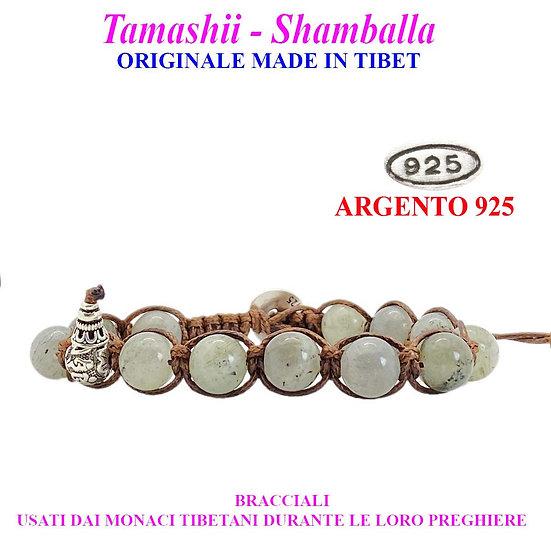 Bracciale Tamashii-Shamballa Labradorite