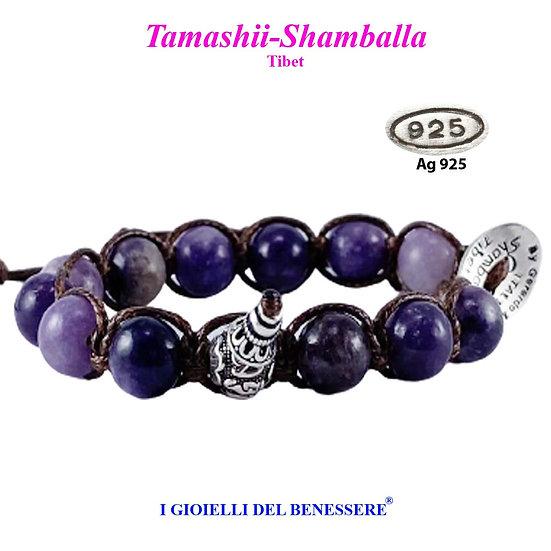 Bracciale Tamashii-Shamballa Mica Viola
