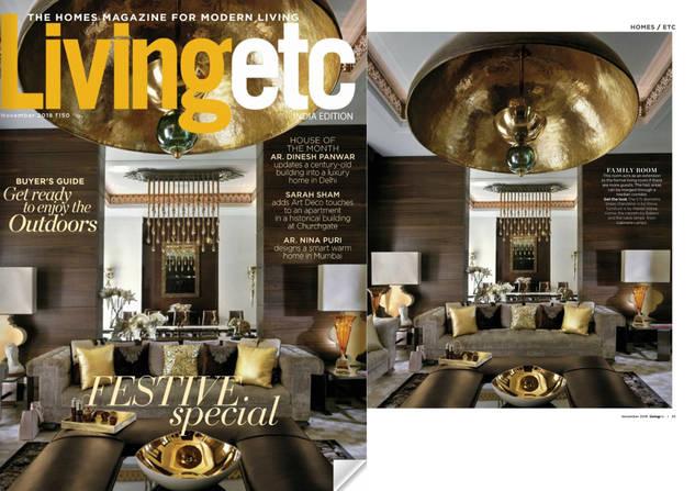 Living etc magazine, November 2018 - 1.j