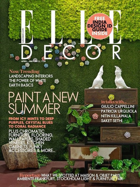 Elle Decor April-may 2015 Issue
