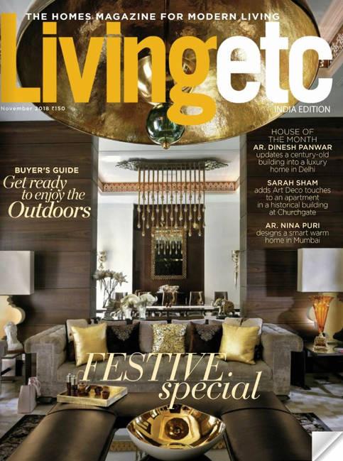 LIVING ETC NOVEMBER 2018 ISSUE