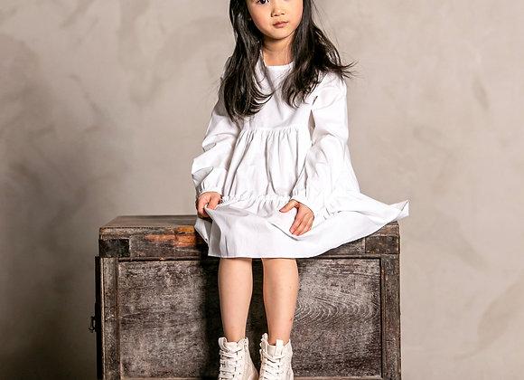 AIRY WHITE DRESS