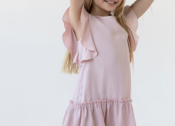 PINK DRESS BUTTERFLY