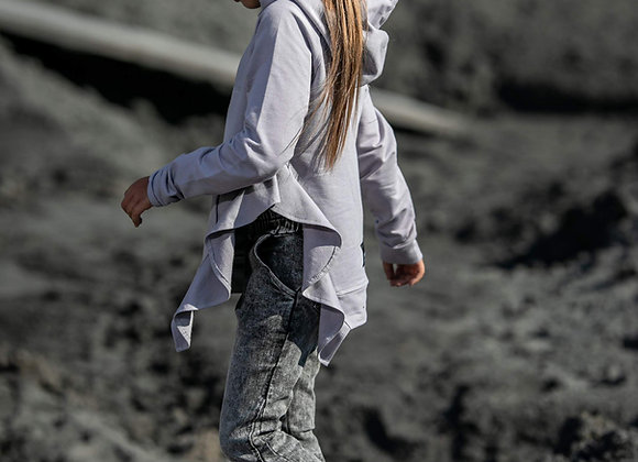 "Grey hoodie "" Revolution"""