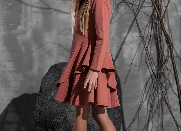 "Coral dress ""Just imagine..."""
