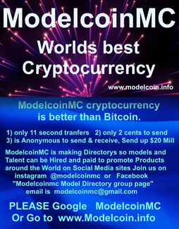 ModelcoinMC worlds Best Cryptocurrency