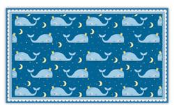 Blue Whales Pattern