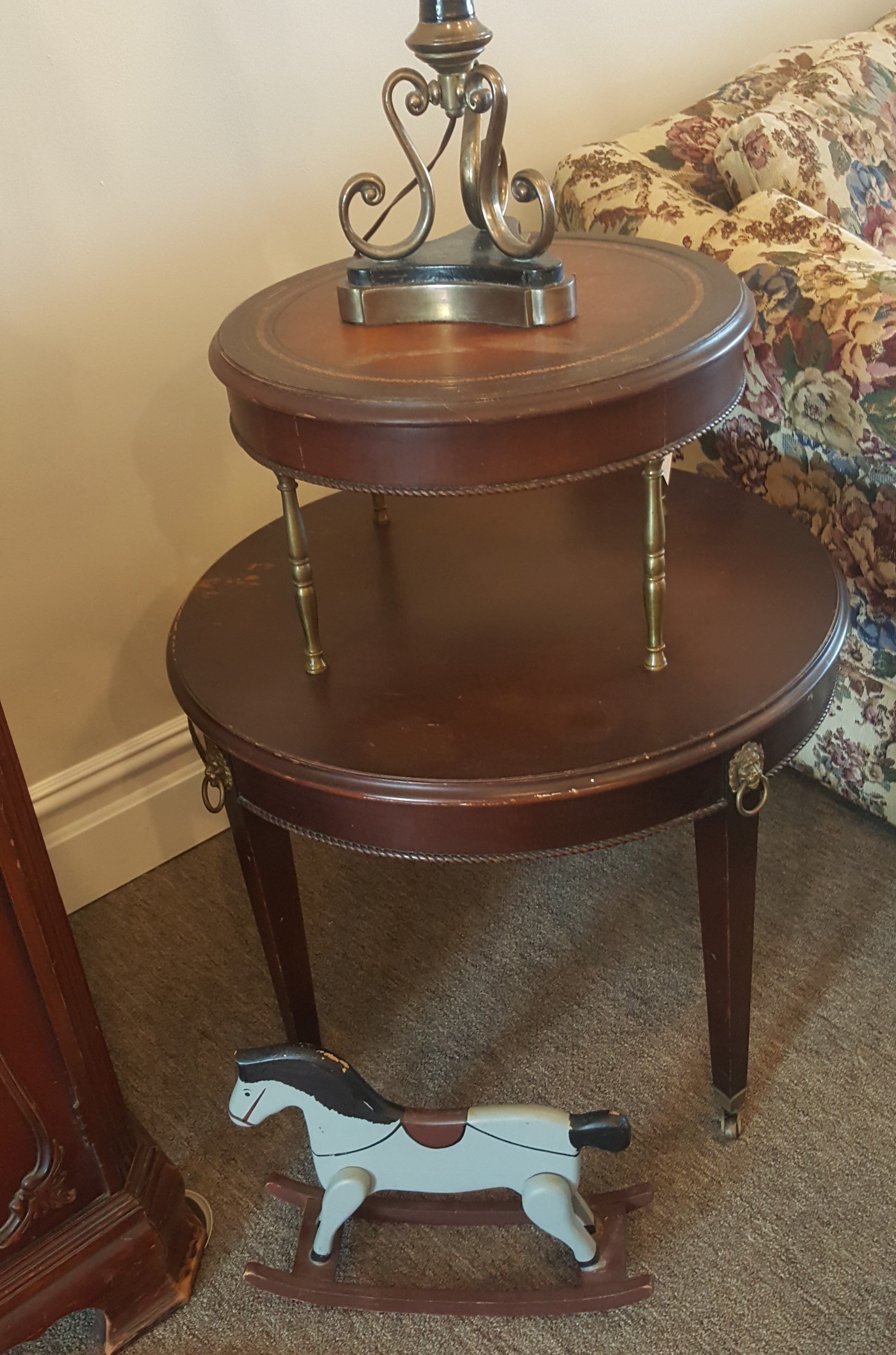 Vintage Two Tier end Table