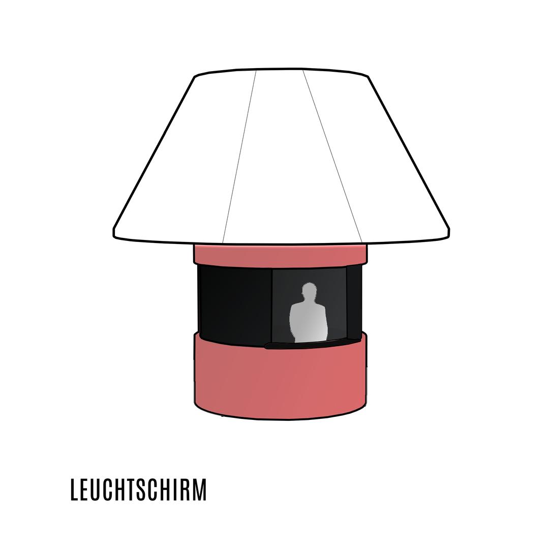 Leuchtschirm, Licht Sparkasse, Verkaufsstand, Architekt Bank