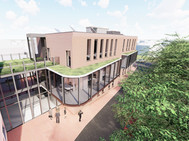 Funke Architekt Dorsten, Volksbank Schermbeck, 3D