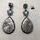 Thumbnail: Rajasthani tribal silver post earrings