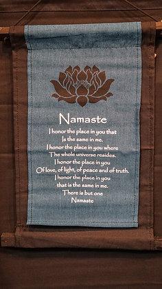 Namaste wall Hanging