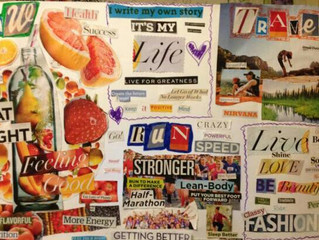 How do I make a vision board and how do I use it?