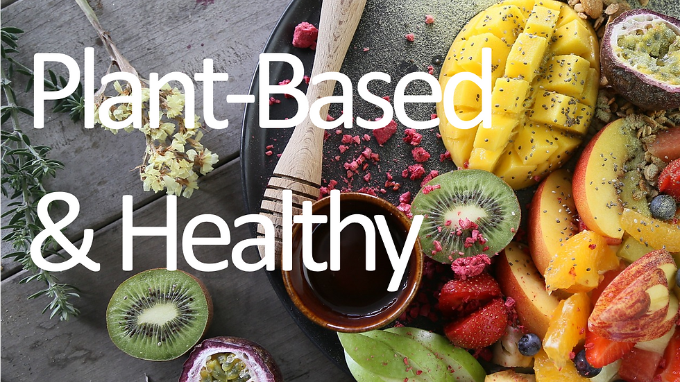 How to be Plant-Based & Healthy