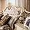 Thumbnail: Спальный гарнитур «Джоконда», слоновая кость глянец