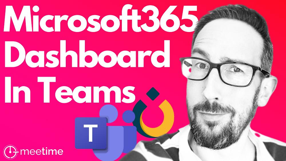 Microsoft 365 Personal Productivity Dashboard