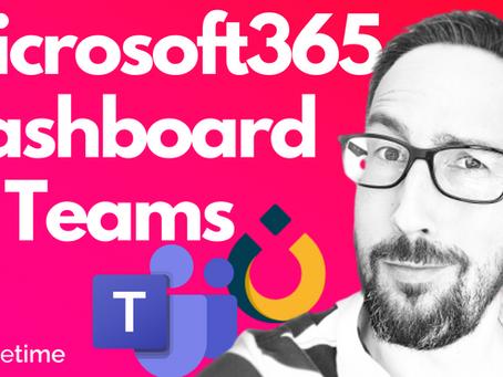 Microsoft 365 Personal Productivity Dashboard 📈