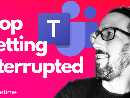 Stop Getting Interrupted 🤬 How To Manage Notifications In Microsoft Teams Tutorial 2021