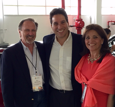 Ira Ehrenpreis, Co-Founder, World Energy Forum (at Tesla) Carol Ann Wentworth, Eric Wentworth, Wentworth Executive Recruiting