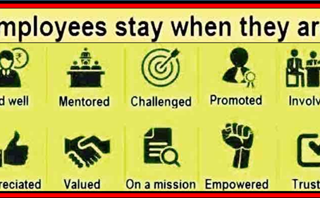 Why employees stay.
