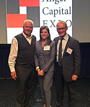 Randy Williams, Founder, Keiretsu Forum, and Bruce Cryer, Stanford professor , Carol Ann Wentworth, Wentworth Executive Recruiting. Keiretsu Forum is the world's largest angel investor organization in the world with more than 3,000 members.
