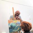 Art class for adults in MihoArt Studio
