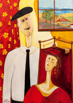 ДуханЪ (2006) by Miho Ebanoidze, Moscow private collection