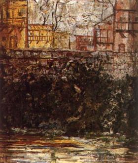 Old Tbilisi by Miho Ebanoidze (1980s)